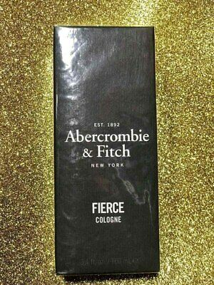 Abercrombie & Fitch Fierce Cologne 3.4 oz / 100 ml New & Sealed 100% AUTHENTIC
