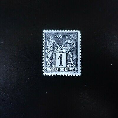 France Timbre Type Sage N°83 Neuf ** Luxe Mnh Cote 16€ (+50%)