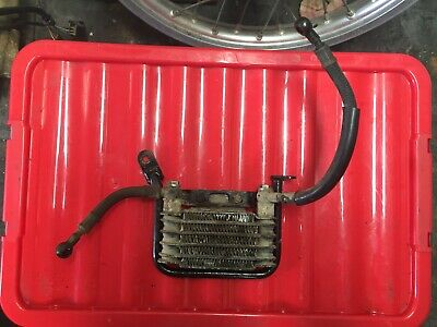 1995 suzuki dr250r oil cooler with feed pipes dr 250 drz xc djebel