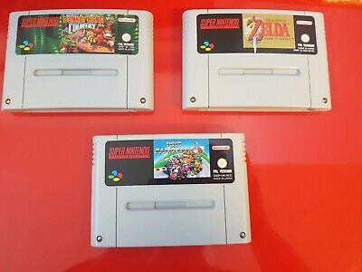 Super Mario Kart/Donkey Kong Country/Zelda A Link to the Past Snes top ZUSTAND