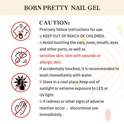 24 Colors BORN PRETTY UV LED Gel Nail Polish Soak Off Gel Nails Varnish Tools
