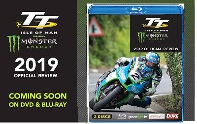 TT 2019 - OFFICIAL REVIEW - ISLE of MAN Tourist Trophy - NEW RgFree BLU-RAY PAL