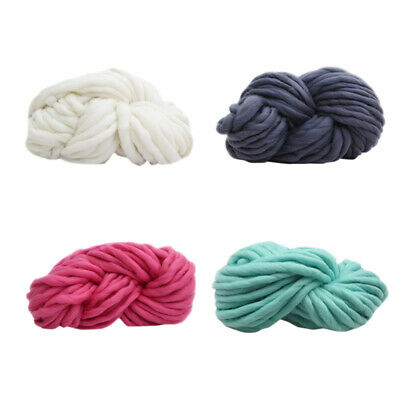 250g Super Thick Bulky Wool Yarn Soft Chunky Hand Knitting Hat Scarf