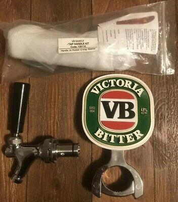 VB Beer Badge With Mounting Bracket Tap And Handle