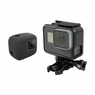 For Gopro Hero5 6 7 Camera Wind Noise Reduction Windproof Sponge Foam Cover Case