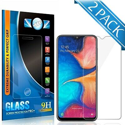 For Samsung Galaxy A20 ITEC 100% Genuine Tempered Glass Screen Protector Cover