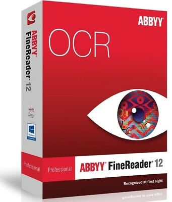 ABBYY FineReader 12 Portable PDF converter/OCR/Pro (Fast digital delivery)