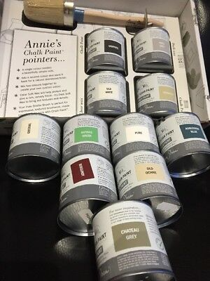 Annie Sloan Paint Project Pack-1 Brush + 2 x 120ml tins of Paint + 2 waxes......