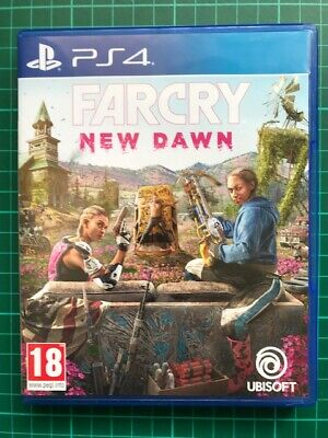 Far Cry New Dawn PS4 Blue-Ray Game