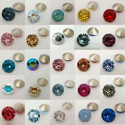 Genuine SWAROVSKI #1088 ss39 XIRIUS CRYSTAL CHATON 39ss (Foiled) ~ Many Colour