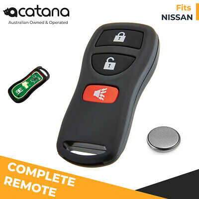 3-Button Remote Key for NISSAN Pathfinder R50 all badges 09.2002 to 2005 433mHz