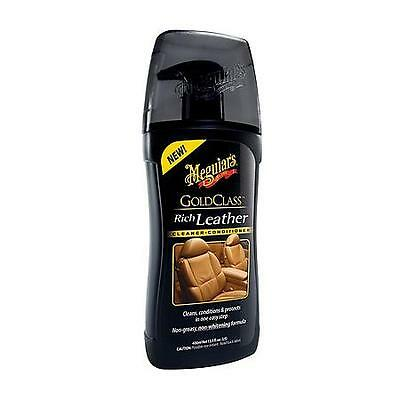 Meguiars Gold Class Rich Leather Cleaner and Conditioner New Ultimate Stockist