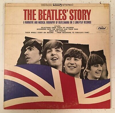 The Beatles The Beatles' Story Apple Records ‎– STBO-2222 1971 Pressing
