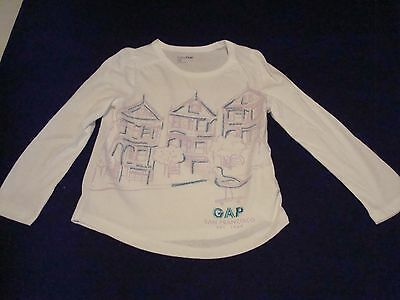 Girl Gap San Francisco Lon Sleeve, Graphic T-Shirt Size 4T NWT