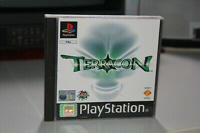 Playstation TERRACON PAL ITA ITALIANO Psx ps1 Sony ps psone one terra con