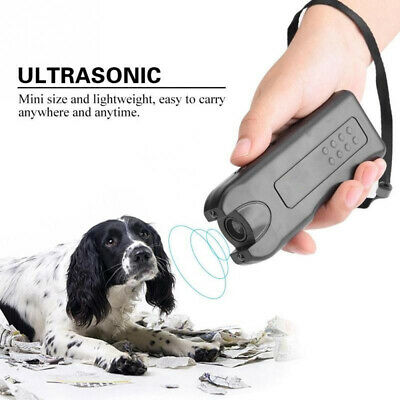 Ultrasonic Anti Barking Pet Dog Repeller Train Control Device Bark Stop Tool USA