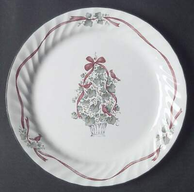 "Corelle CALLAWAY CHRISTMAS HOLIDAY IVY Dinner Plates 10 1/4"" Christmas Tree"