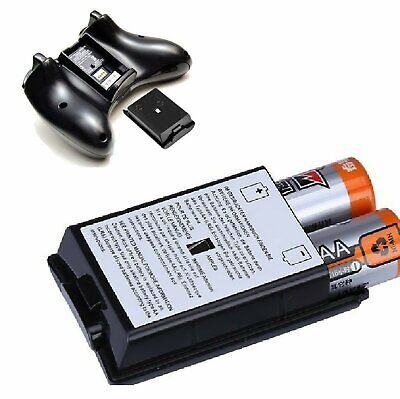 AA Battery Back Cover Case Shell Pack For Xbox 360 Wireless Controller USA