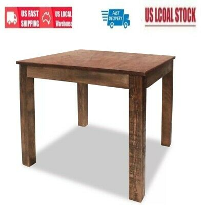 Handmade Antique Classic Coffee Table Dining Table Solid Reclaimed Wood USA
