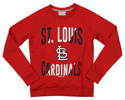 Outerstuff MLB Youth/Kids Boys St. Louis Cardinals Performance Fleece Sweatshirt