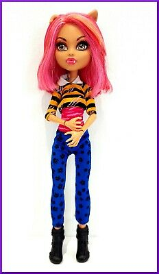 100. Mattel Monster High doll Howleen Wolf series Pack of Trouble