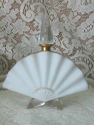 Antique Crystal Baccarat Elizabeth Arden Cyclamen Perfume Bottle & Stopper