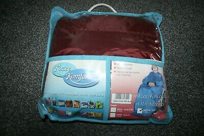 Kozee Komforts Coverall with sleeves Waterproof WHEELCHAIR CAPE / COVER - medium
