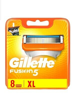 Gillette Fusion5 Blades 8 Blades  New, 100% Genuine