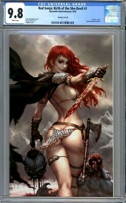 Red Sonja: Birth of the She-Devil #1 CGC 9.8 Kendrick Kunkka Lim Virgin Variant
