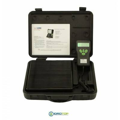 Electronic Scale LCD Course 100 kg for Gas Refrigerante-Idrotop
