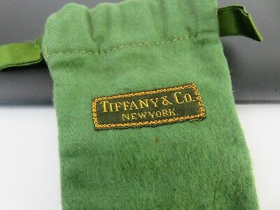 Tiffany & Co 19th Century Anti Tarnish Cloth Pouch Bag for Sterling Silver