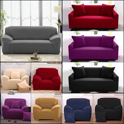 50% OFF US Stock Stretch Chair Sofa Covers 1 2 3 Seater Protector Couch Cover
