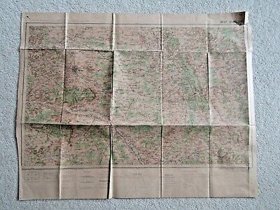 Antique French map Chalons sur Marne (Type 1912)