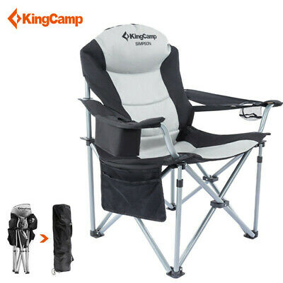 KingCamp Aluminum Folding Director's Chair Outdoor Camping Fishing Chair