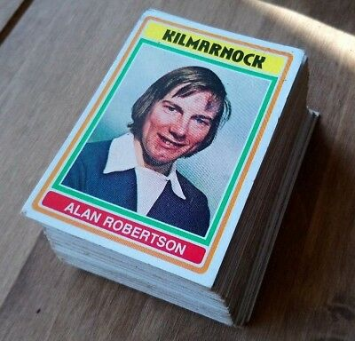 TOPPS - FOOTBALLERS 1976 SCOTTISH RED BACK Pick the cards you want