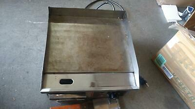 1500W Commercial Stainless Steel  Electric Griddle Grill Plate BBQ Countertop