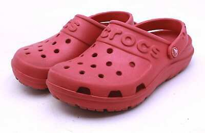Crocs Boys US Size 12 Red Sandals