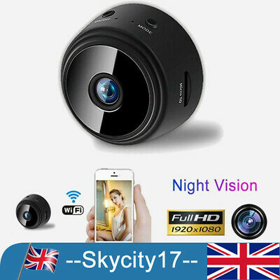 Mini Spy IP Camera Wireless WiFi HD 1080P Hidden Network Monitor Security Cam MK