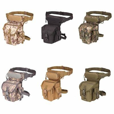 Tactical Waist Pack Drop Leg Bag Belt Military For Hiking Riding Outdoor Bag Hot