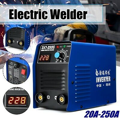 20-250AMP Welder Inverter MMA ARC Portable ZX7-250G Welding Machine IGBT  ❤