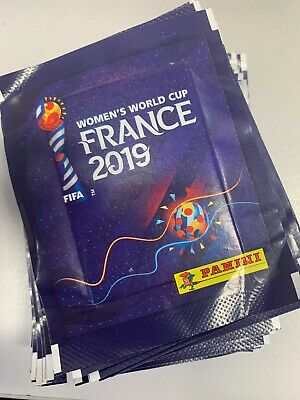 50 X Women's FIFA World Cup France 2019 Official Panini Packs Brand New Uk Stock