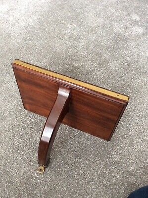 Mahogany And Brass Bracket For Bracket Clock