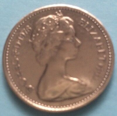 1976 Queen Elizabeth Ii Decimal Half Penny Coin 44Th Birthday / Anniversary