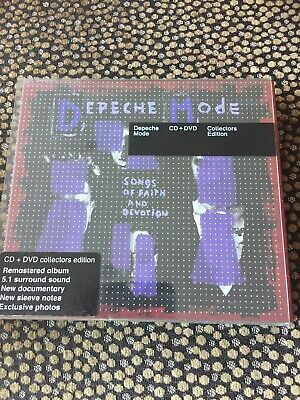Depeche Mode - Songs Of Faith And Devotion SACD + DVD - Hybrid CD - collectors