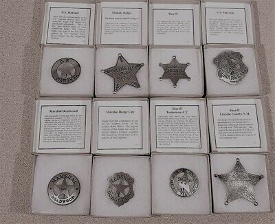 New Badges Of The Old West Marshal Badge MI3008
