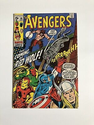 The Avengers #80 Marvel Comics - 1st App Of RED WOLF - Iron Man, Thor, Vision