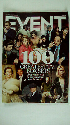 The Mail on Sunday Event Magazine 14 / 10 / 2018 The 100 Greatest TV Box Sets