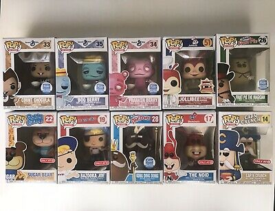 Funko Pop Ad Icons Lot Cereal Monsters Jollibee Target Exclusives Funko Shop
