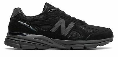 New Balance Men's Made in US 990v4 Shoes Black