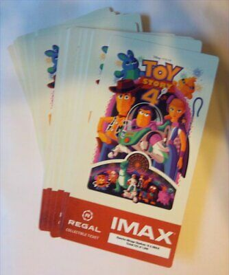 TOY STORY 4 DISNEY Collectible Ticket-Movie Card